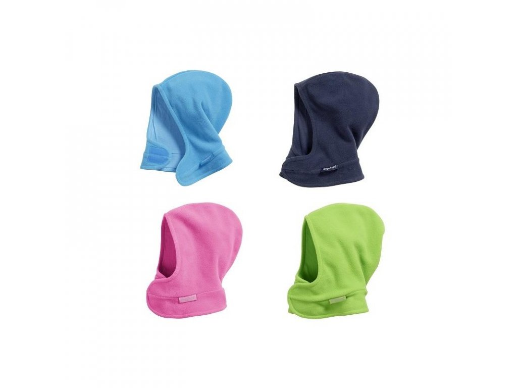 PLAYSHOES Fleecová kukla farebná na zips, farba: ružová