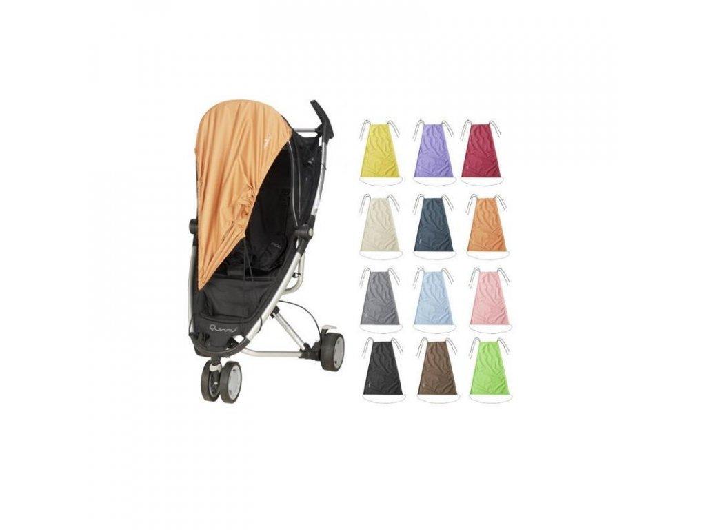 PLAYSHOES Slnečná clona na kočík, farba: čierna