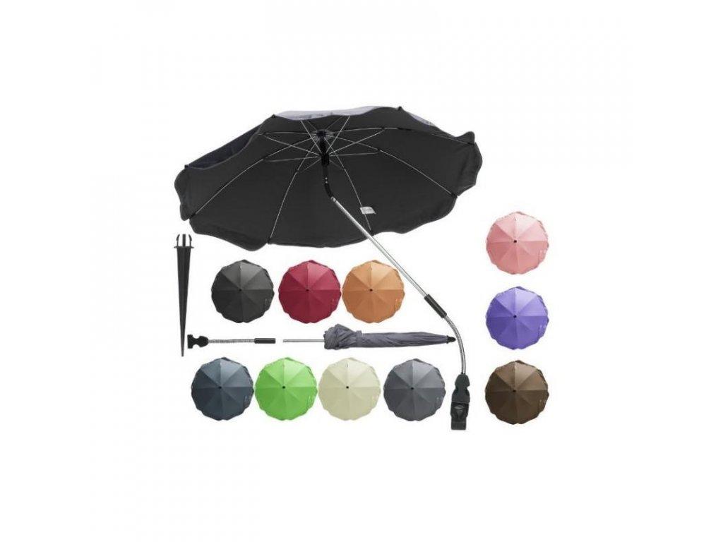 PLAYSHOES Univerzálny slnečník na kočík, farba: fialová