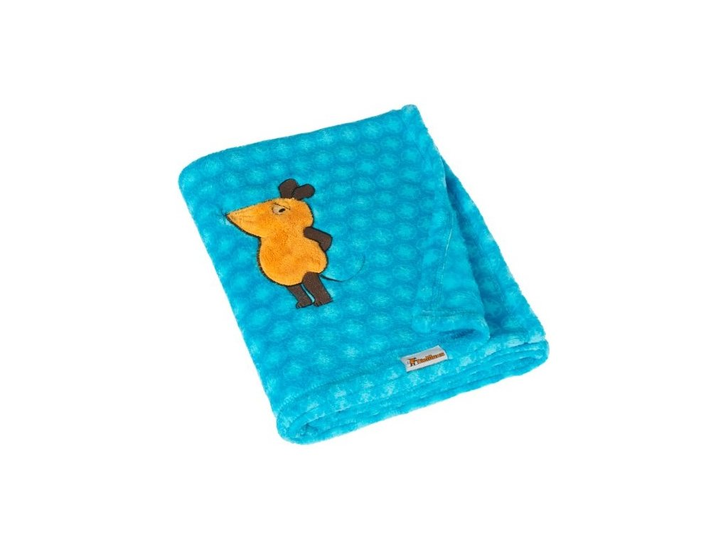 PLAYSHOES Fleecová deka Myška 75x100