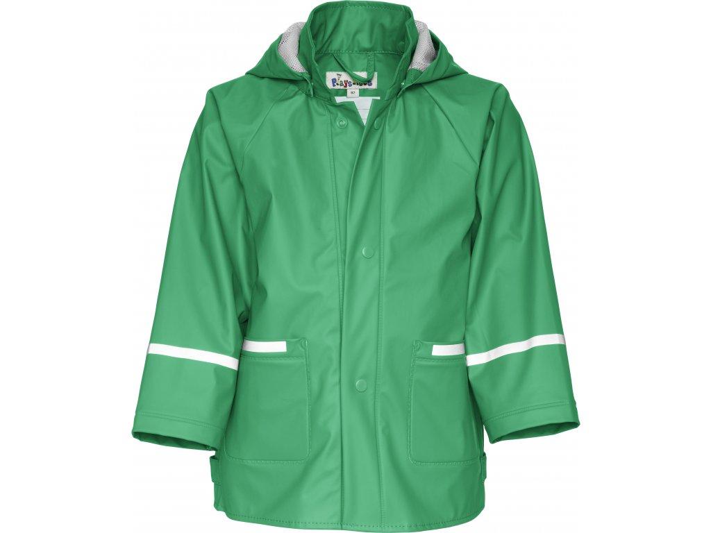 Nepremokava bunda do dažďa BASIC zelená