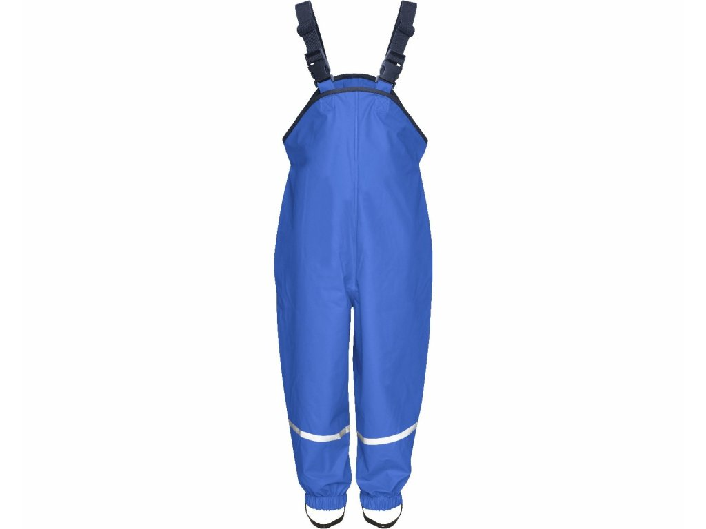 Nepremokavé nohavice na traky modré