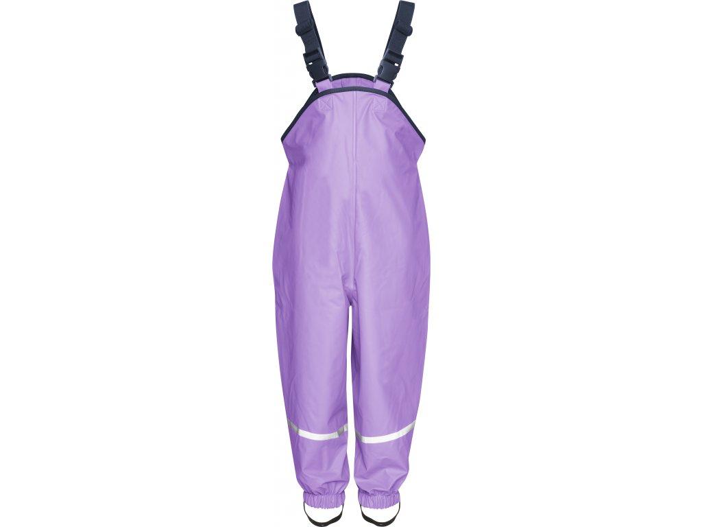 Nepremokavé nohavice na traky fialové