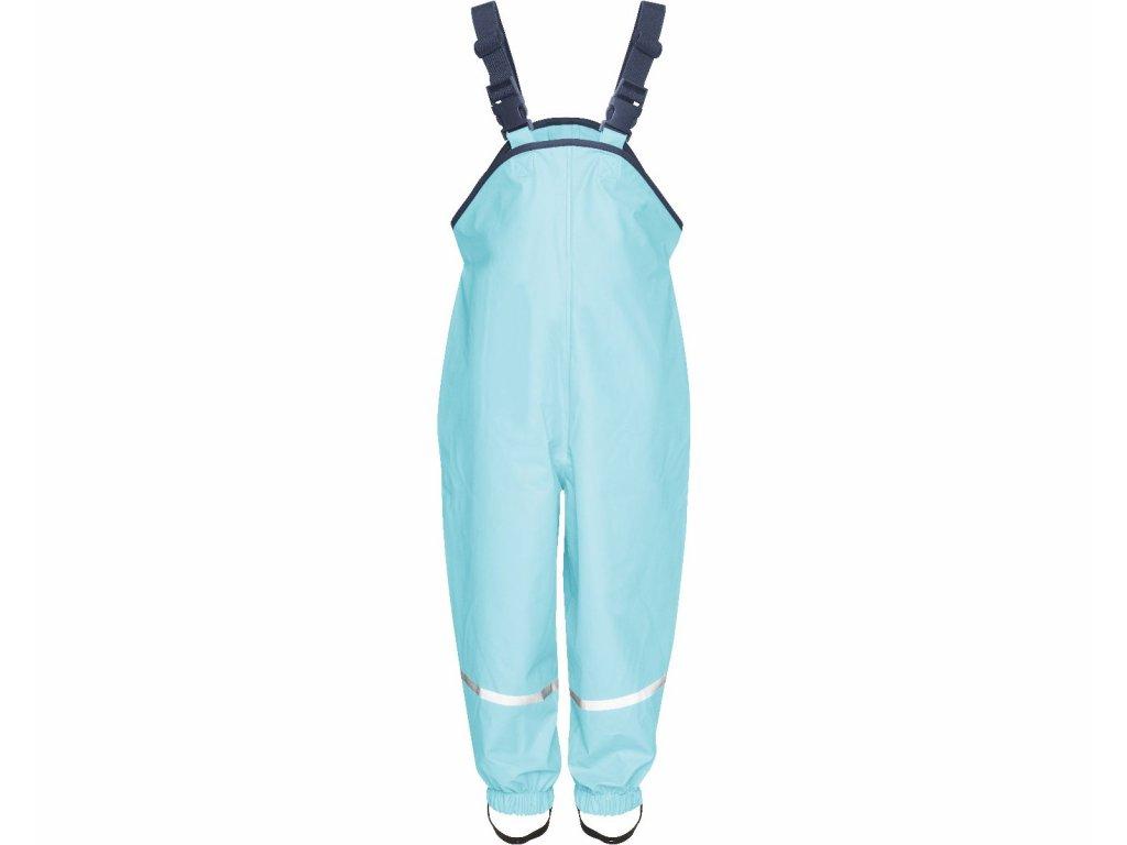 Nepremokavé nohavice na traky tyrkysové