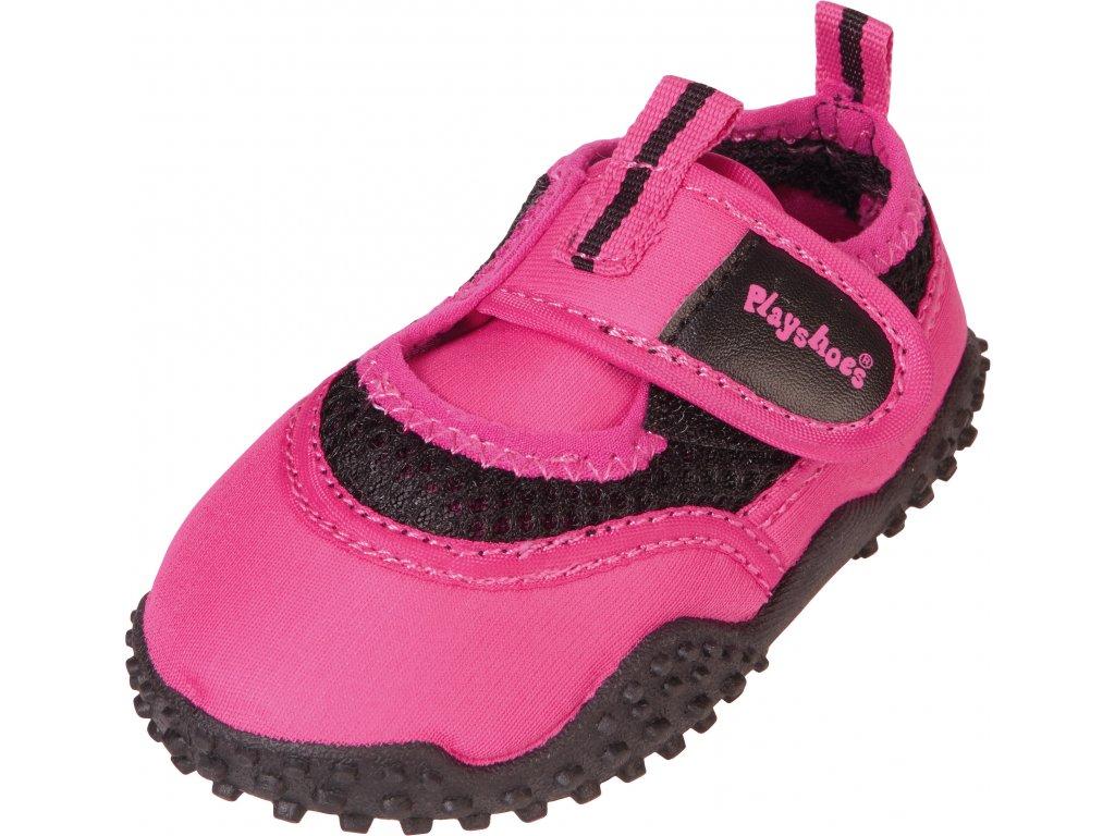 Topánky do vody s UV ochranou Neon ružová