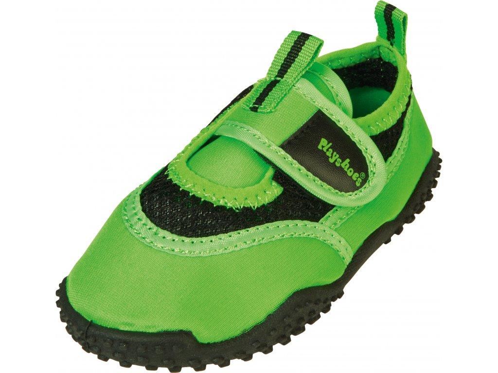 Topánky do vody s UV ochranou Neon zelená