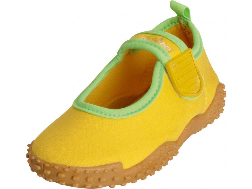 Topánky do vody s UV ochranou klasické žlté