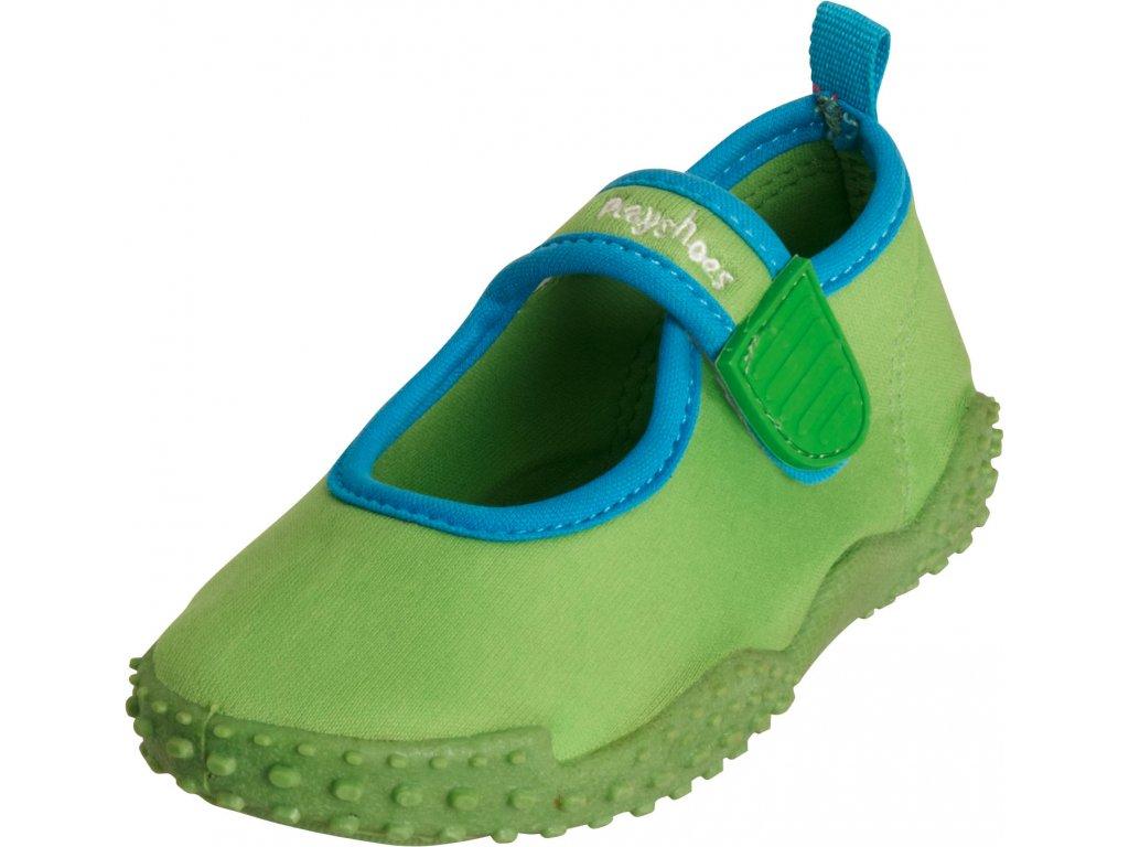 Topánky do vody s UV ochranou klasické zelené