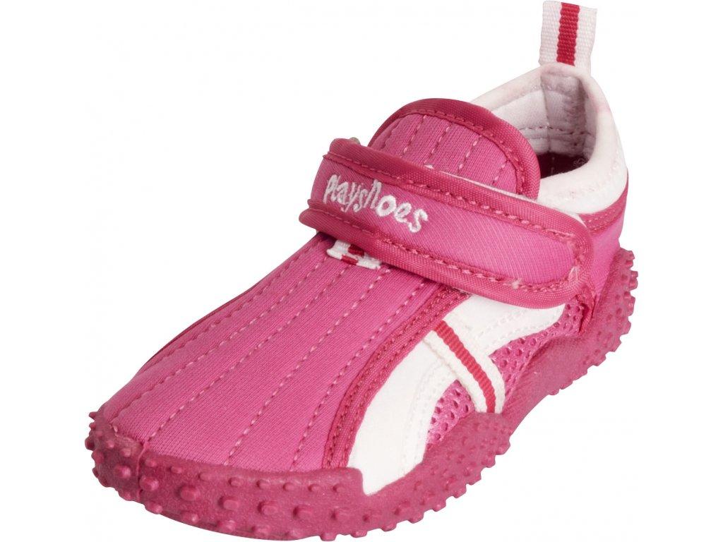 Topánky do vody s UV ochranou športové ružové