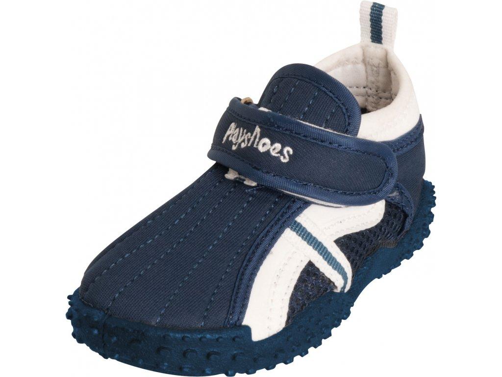 Topánky do vody s UV ochranou športové tmavomodré