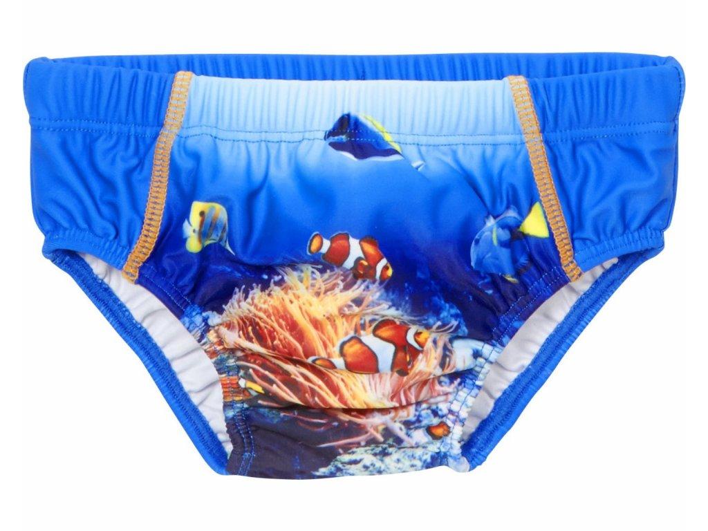 Baby plavky s plienkovou vložkou Podmorský svet