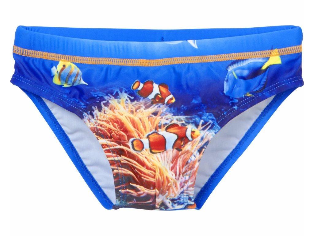 Slipové  plavky Podmorský svet