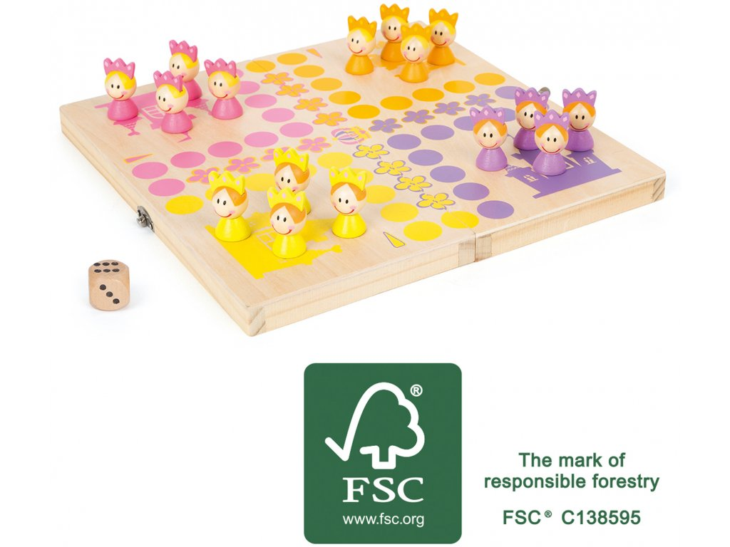 11105 legler small foot ludo princess FSC