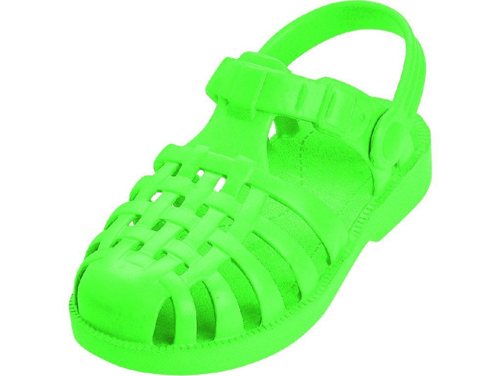 Sandále do vody zelené