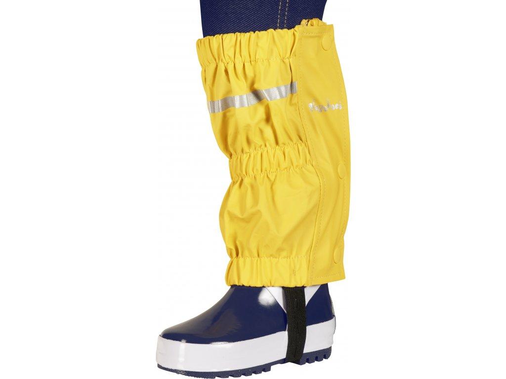 Nepremokavé návleky na topánky - štucne žlté