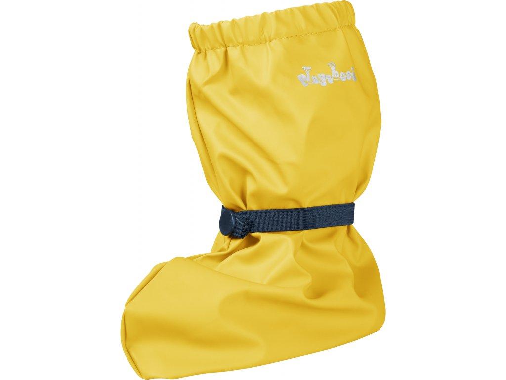 Nepremokavé návleky žlté