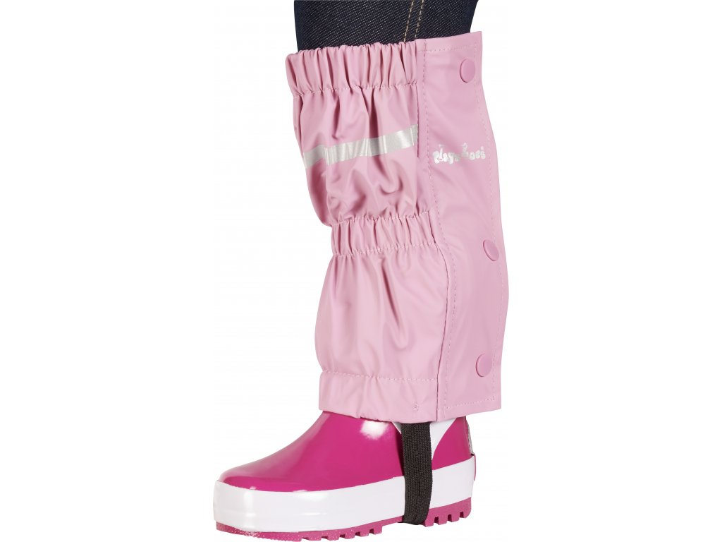 Nepremokavé návleky na topánky - štucne svetloružové
