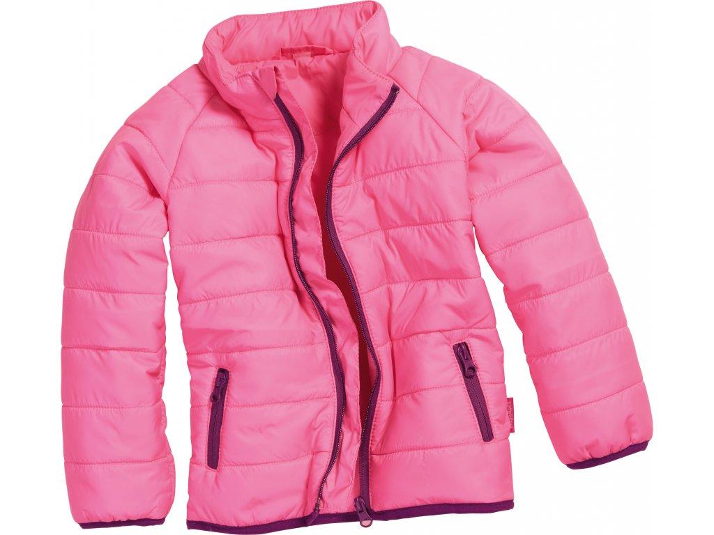 Prešívaná bunda UNI ružová