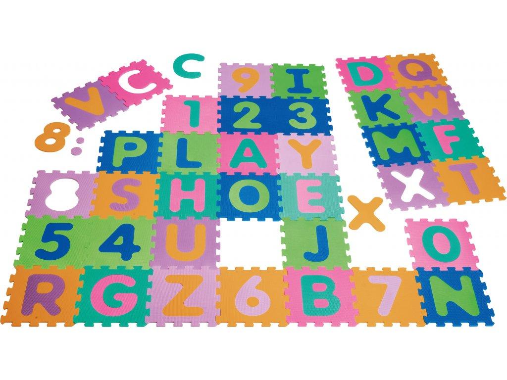 EVA penové puzzle 36 ks
