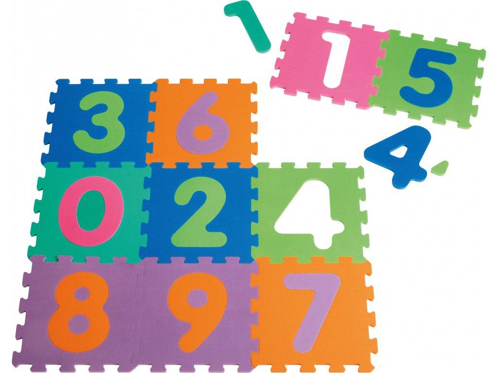 EVA penové puzzle 10 ks