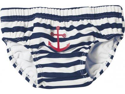 Baby plavky s plienkovou vložkou Námorník