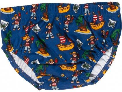 Baby plavky s plienkovou vložkou Pirátsky ostrov