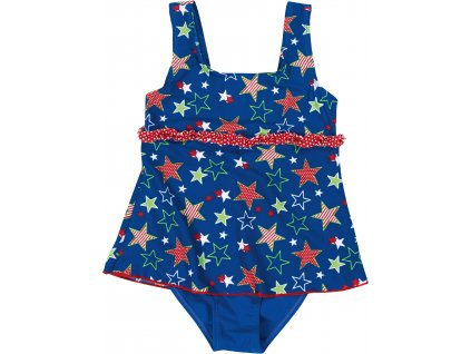 Celé plavky so sukničkou Hviezdičky