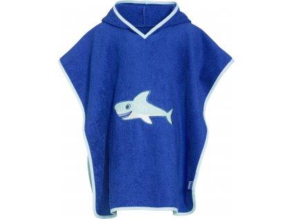 Froté pončo Žralok