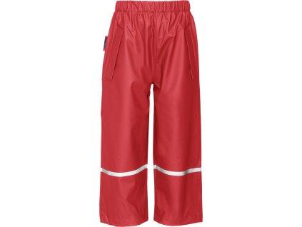 Nepremokavé nohavice  červené