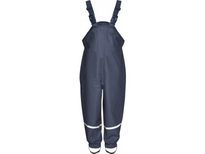 Nepremokavé nohavice s bavlnenou podšívkou tmavomodré