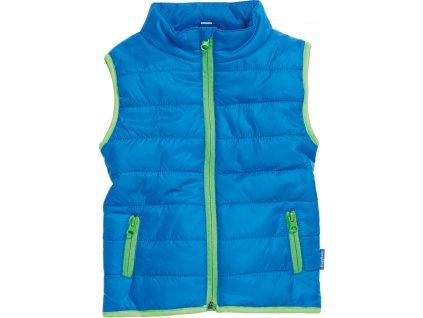 Prešívaná vesta UNI modrá