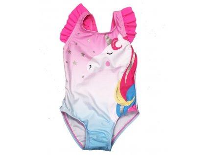 Dievčenské plavky Jednorožec