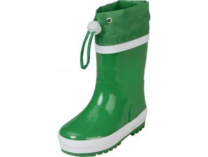 Zateplené gumáky Basic zelené