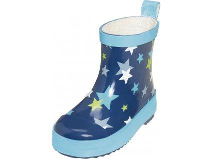 Detské gumáky nízke Hviezdička modrá