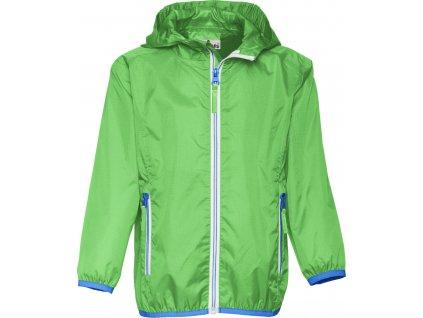 Nepremokavá ľahká bunda zelená