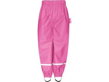 Nepremokavé nohavice na gumu ružové