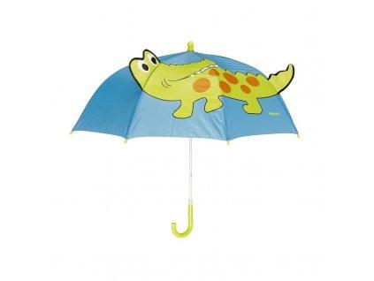 PLAYSHOES Detský dáždnik Krokodíl modrý, pr.70cm