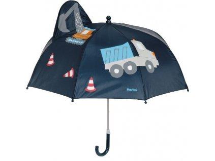 Detský dáždnik Stavbár 3D