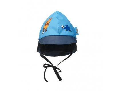 Klobúčik do dažďa Myška modrý
