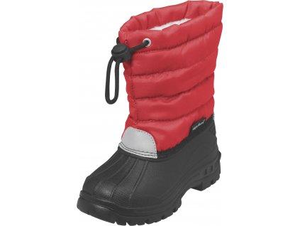Zimné topánky Winter-Bootie červené
