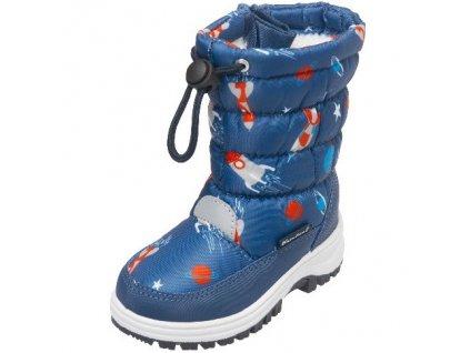 Zimné topánky Vesmír