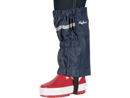 Nepremokavé návleky na topánky - štucne tmavomodré