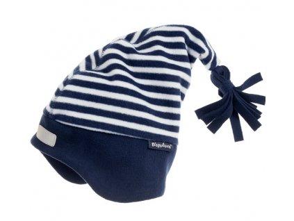 Fleecová čiapka námornícka