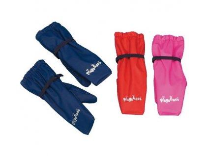 PLAYSHOES Nepremokavé rukavice s fleecovou podšívk, farba: tmavomodrá