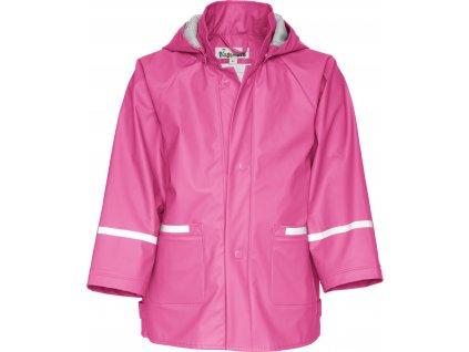 Nepremokava bunda do dažďa BASIC ružová