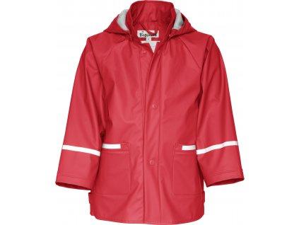 Nepremokava bunda do dažďa BASIC červená