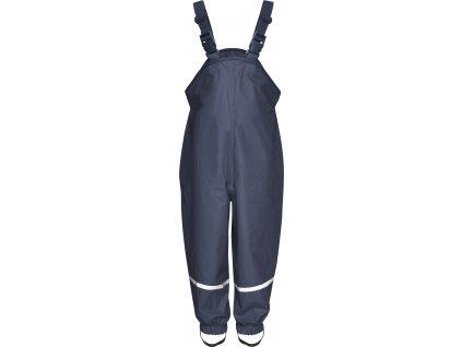 Nepremokavé nohavice na traky tmavomodré