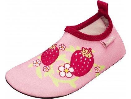 Barefoot topánky do vody s UV ochranou Jahôdky