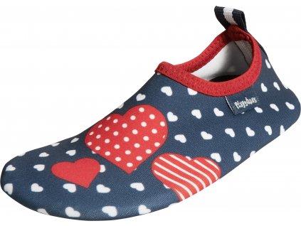 Barefoot topánky do vody s UV ochranou Srdiečka
