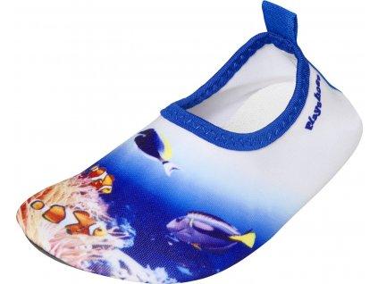 Barefoot topánky do vody s UV ochranou Podmorský svet